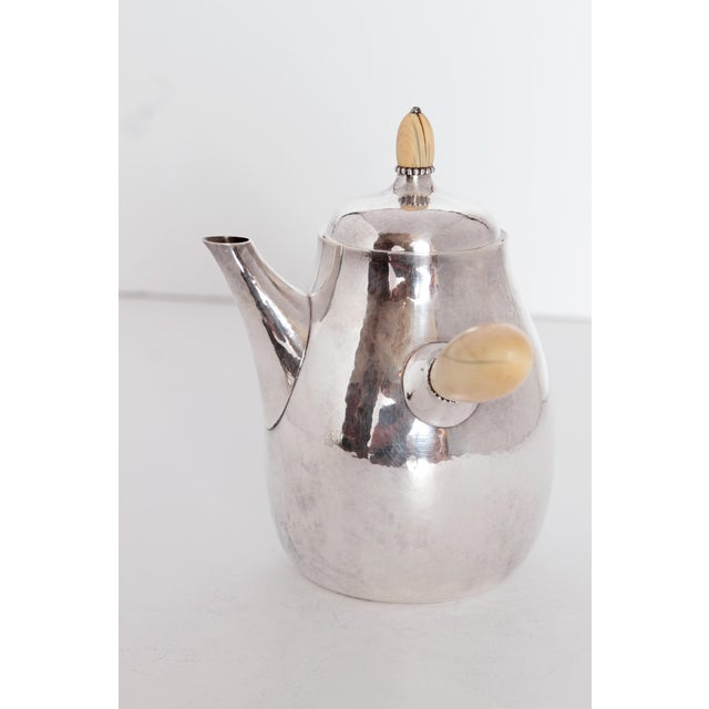 Sterling Silver Coffee Set by Georg Jensen - Image 3 of 11