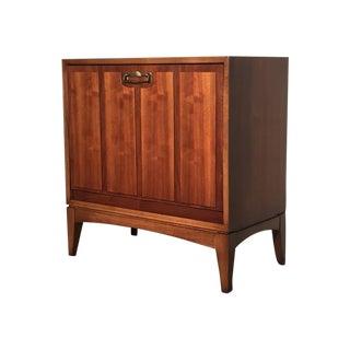 Lane Mid-Century Modern Walnut Record Cabinet