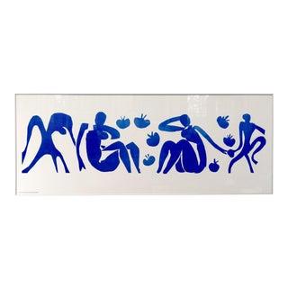 Large Framed Matisse print