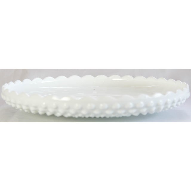 Fenton Hobnail Serving Dish and Cup - A Pair - Image 4 of 5