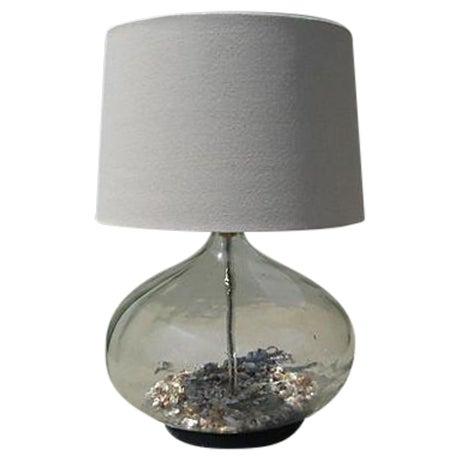 Coastal Glass Bottle Lamp - Image 1 of 5