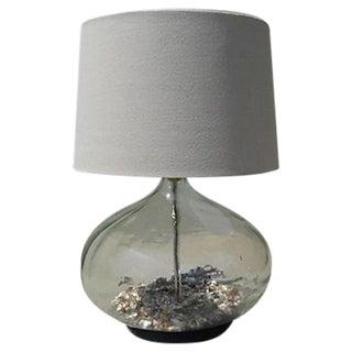 Coastal Glass Bottle Lamp