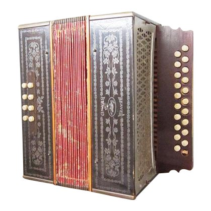Image of Vintage Beaver Melodeon Accordion