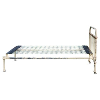 Victorian Cast Iron Twin Bed Frame