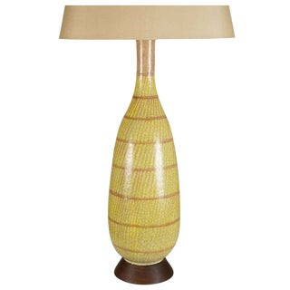 Large Gambone Ceramic Table Lamp