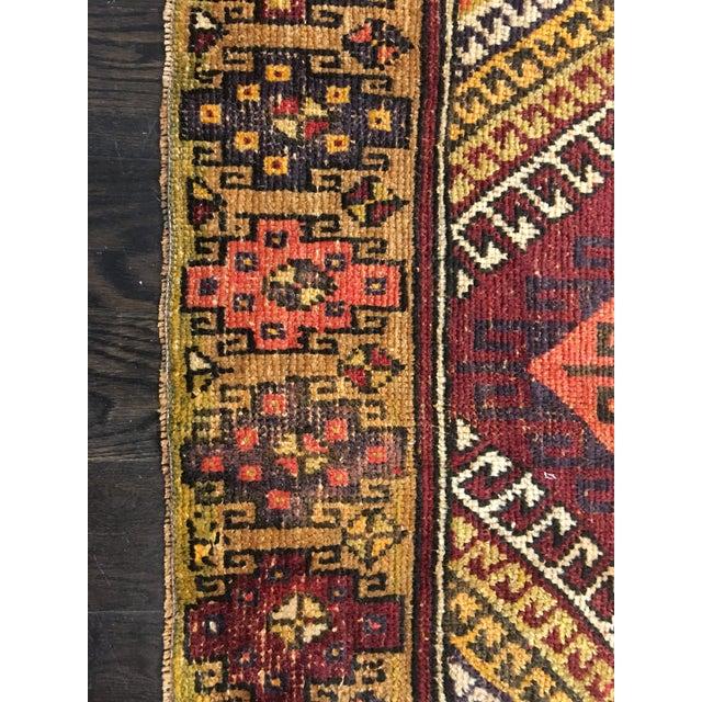 "Bellwether Rugs Vintage Turkish Oushak Rug - 4'1""x8'11"" - Image 3 of 9"