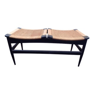 Mid-Century Vintage Bench Made in Italy