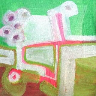 """QUiRK"": An Original Painting by Linnea Heide"