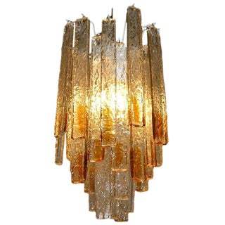 Hanging Light Fixture by Venini, Italy circa 1960