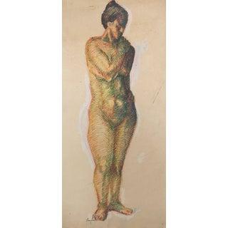 Pencil Artist's Study Nude