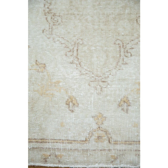 "Distressed Oushak Rug Runner - 2'8"" X 13' - Image 8 of 8"