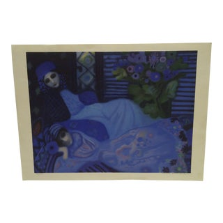 Limited Edition Signed Print Ghosts at Night Lucelle Stoisicord