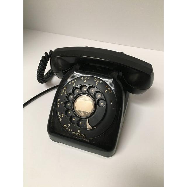 Vintage Leich Black Bakelite Dial Telephone - Image 7 of 9