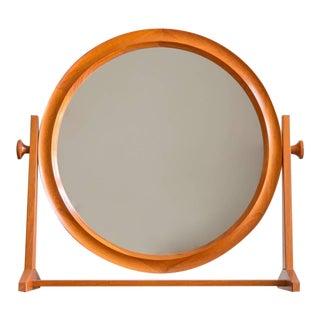 Large Teak Mirror by Pedersen & Hansen