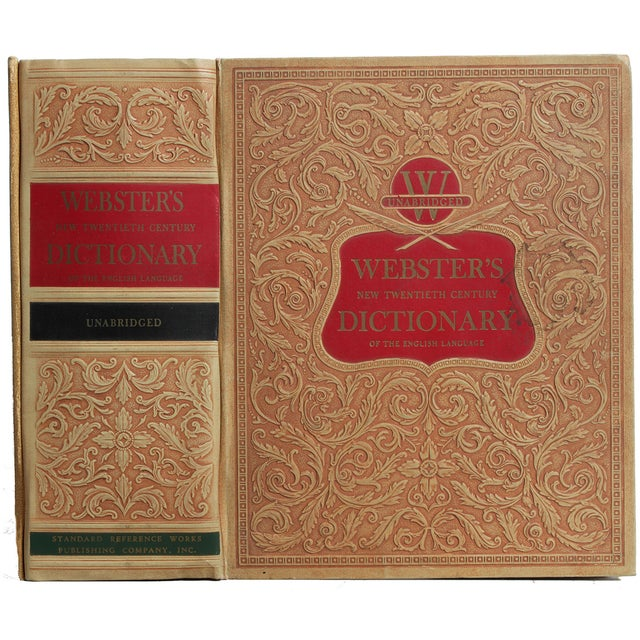 1950's Webster's Dictionary - Image 1 of 3