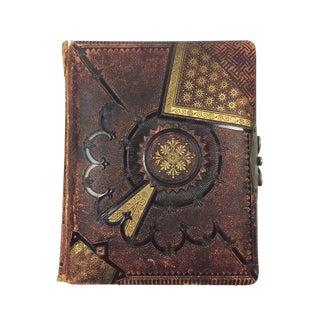 Victorian Handmade Leather Photo Album