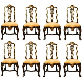 French Dining Chairs by Maison Jansen - Set of 8