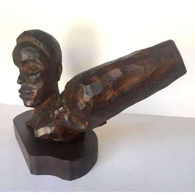 Carved 2-Headed African Bust - Image 7 of 11