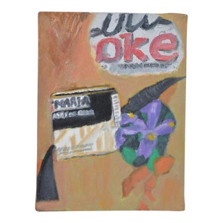 "Arthur J. Krakower ""Cola"" Original Oil on Canvas c.1998"