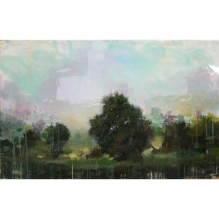 Walden, Oil, acrylic and resin on panel by Peter Hoffer.