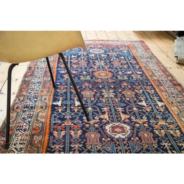 """Colorful Antique Malayer Rug - 4'2"""" X 6'6"""" - Image 8 of 10"""