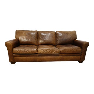 Vintage American Leather Braxton Sofa