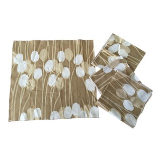 Vintage Cloth Napkins - Set of 4