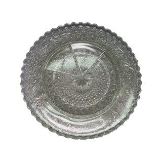 Vintage Press Glass Butter Pats - Set of 12