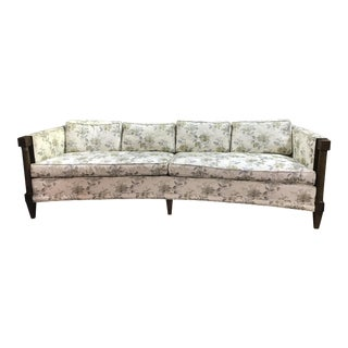 Baker Furniture Curved Sofa
