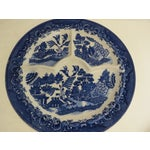 Image of Blue Willow Grill Plates - Set of 4