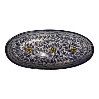 Le Souk Ceramique Oval Serving Dish