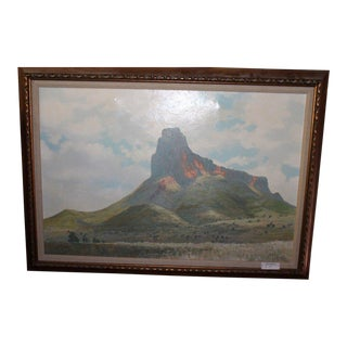 Cathedral Mountain Oil Painting by William Zaner
