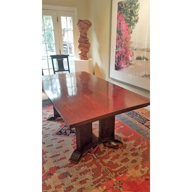 Jules Leleu Neoclassical Dining Table & 4 Chairs - Image 3 of 11
