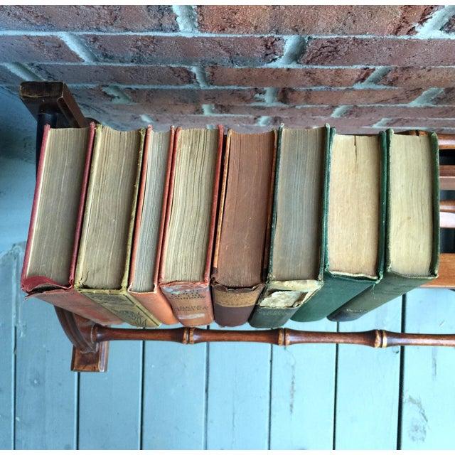 British Colonial Vintage Spindle Bookshelf - Image 6 of 7
