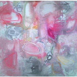 "Abstract Oil Painting by Trixie Pitts ""Open Heart"""