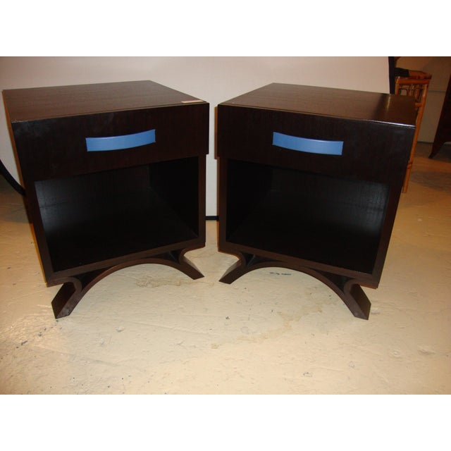 Dakota Jackson End Night Tables A Pair Chairish