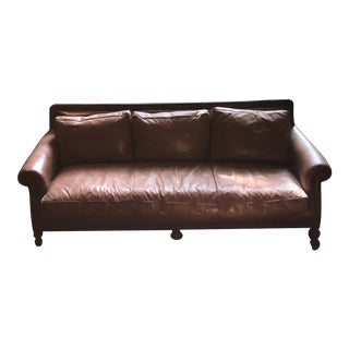 Distressed Leather Ralph Lauren Sofa