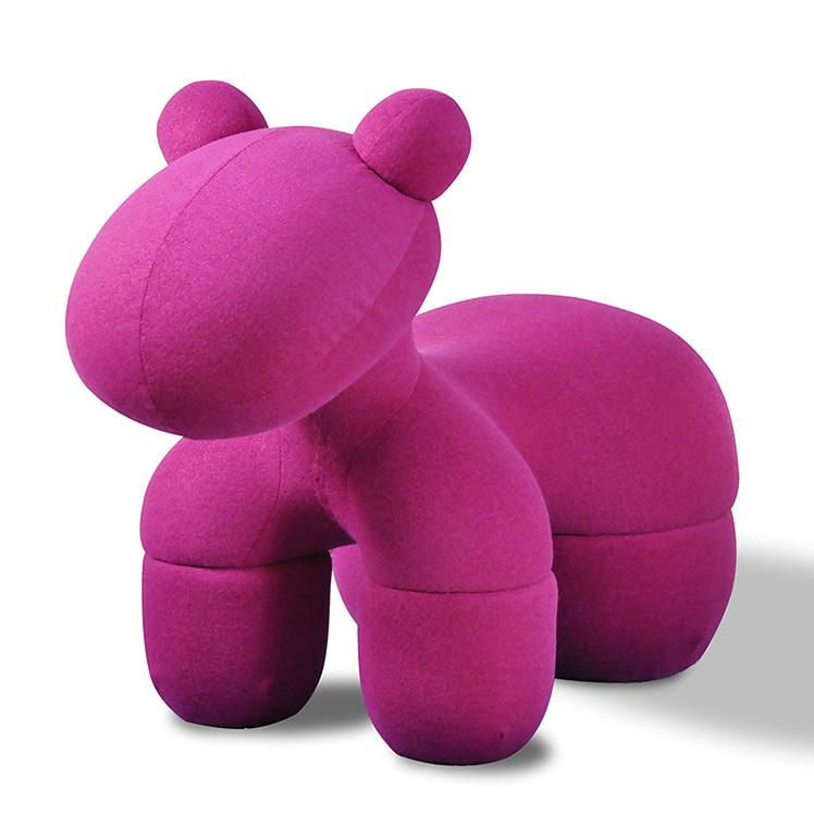 Modern Pink Pony Chair   Image 5 Of 5