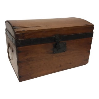 Small Wood Primitive Trunk