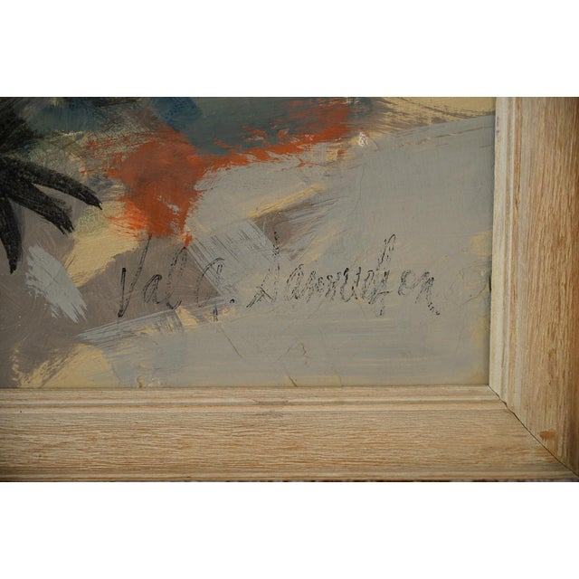 Indio Hills & Valley Desert Landscape Painting - Image 8 of 10