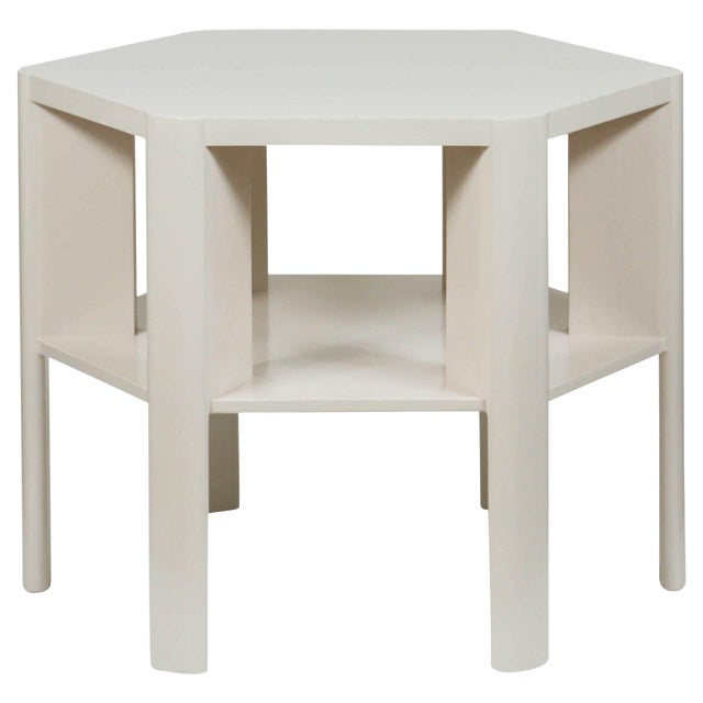 Martin & Brockett Hexagon Library Table - Image 1 of 6