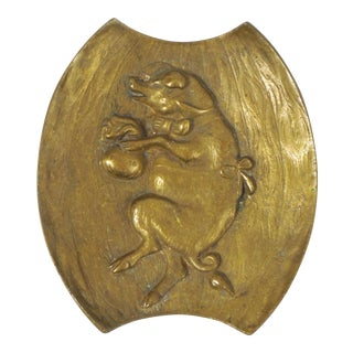 Bronze Pig Coin Dish