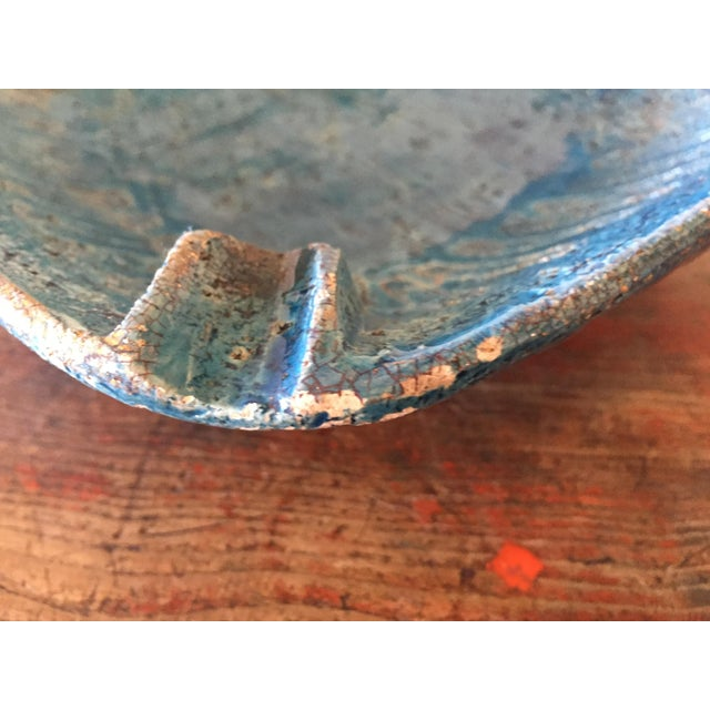 Bitossi Blue Bowl From Italy - Image 7 of 9