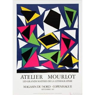"""Henri Matisse """"Centenial, Exposition D' Affiches, Papiers Decoupes"""" 1987 Poster"""