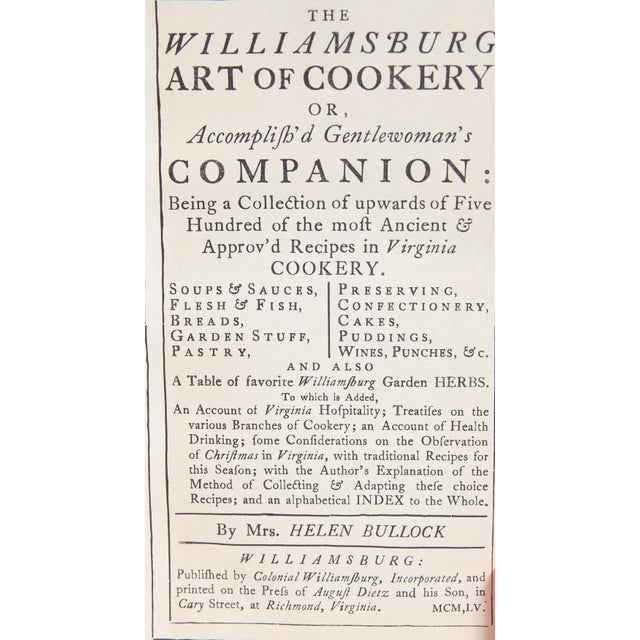The Williamsburg Art of Cookery - Image 2 of 3