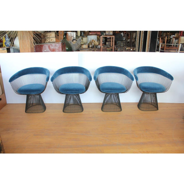 Warren Platner dining chair for Knoll - Image 3 of 3