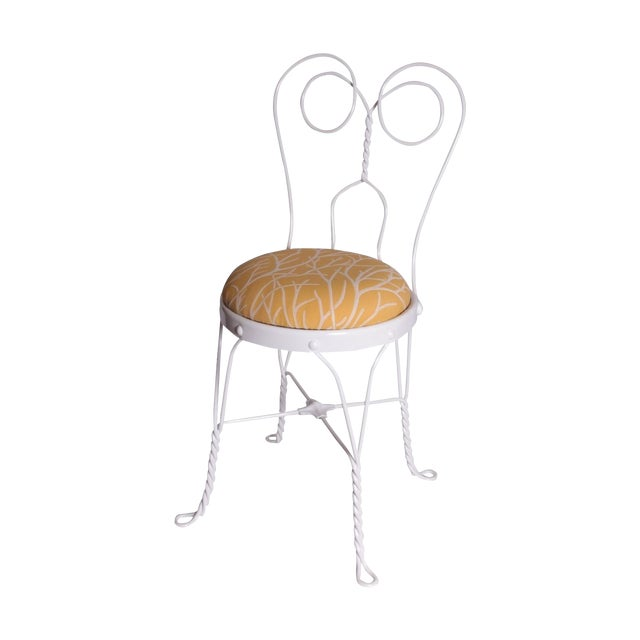 Image of Vintage Ice Cream Parlor Chair