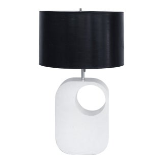 Mid-century Modern Lacquered Wood Lamp