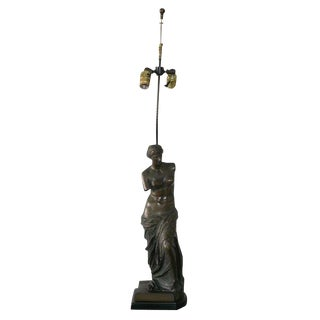 Bronze Table Lamp Venus de Milo
