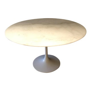 Vintage Marble Top Saarinen Table